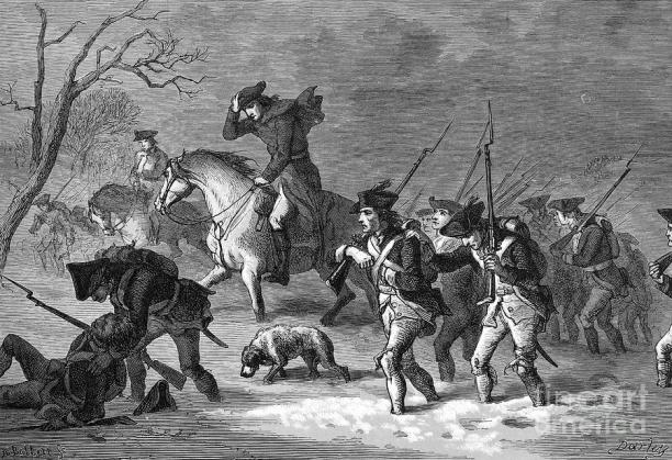 1 march to valley forge