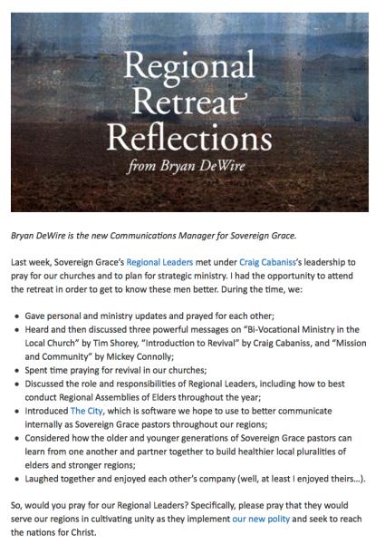 2014-05-10 SGM Regional Update Brian DeWire
