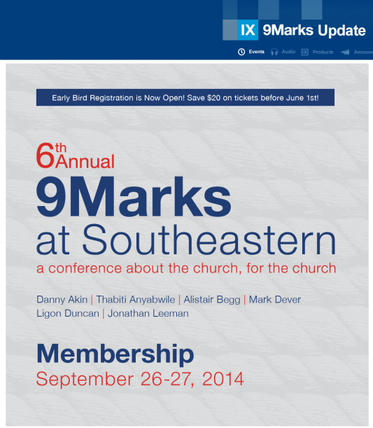 2014-05-22 9Marks conference