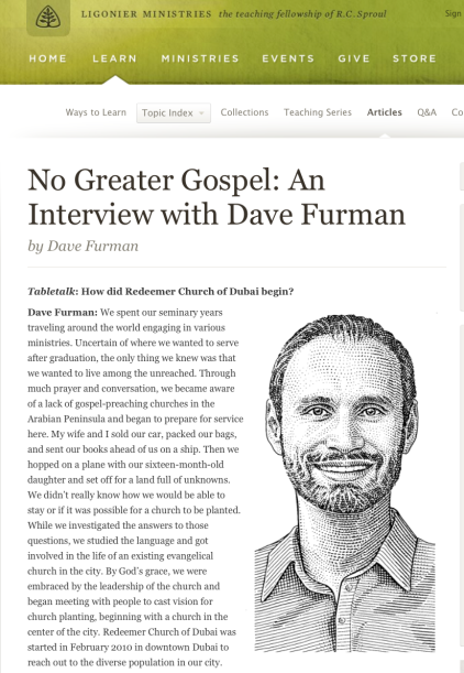 2014-07-06 Dave Furman vision casting