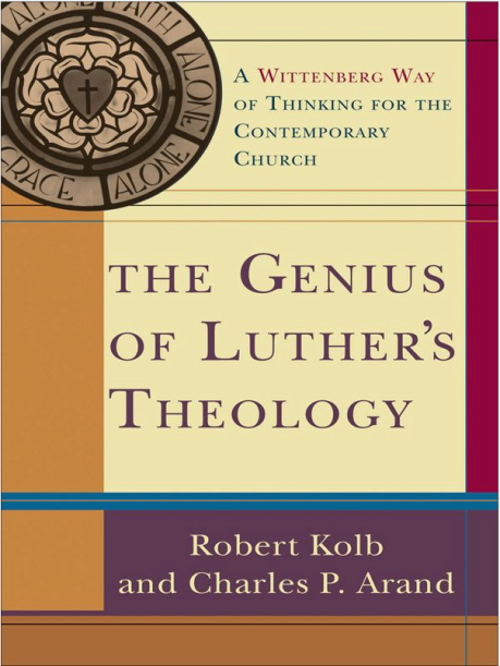 2014-11-08 The Genius of Luthers Theology