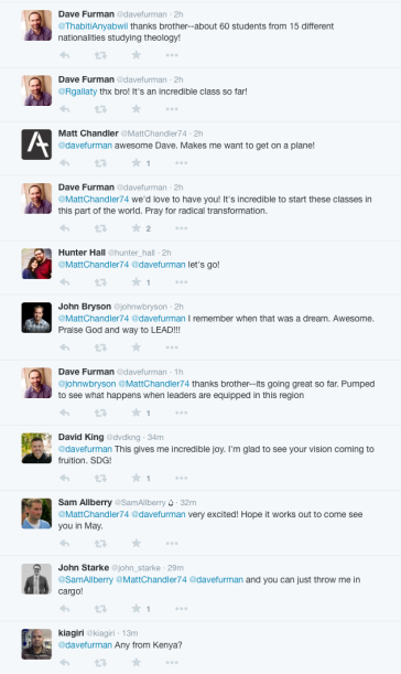 2015-01-11 Responses to Furmans tweet about Ware