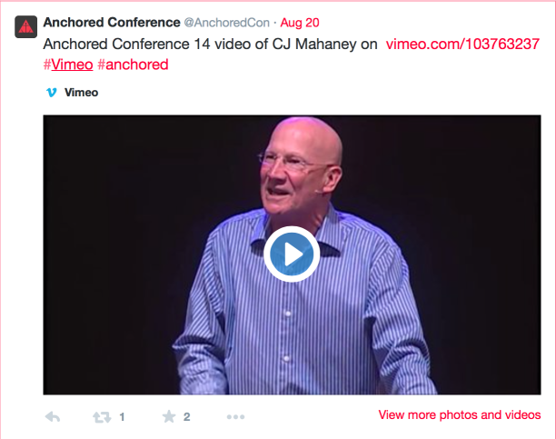2015-04-18 Anchored conference with Mahaney shot